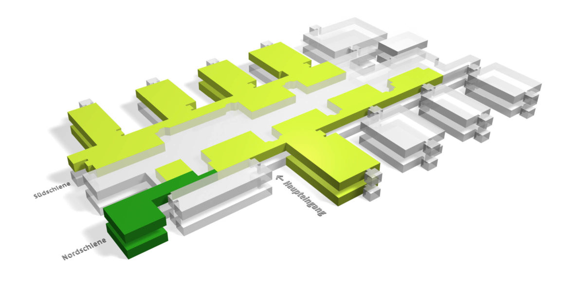 Universität Bielefeld 3D Plan