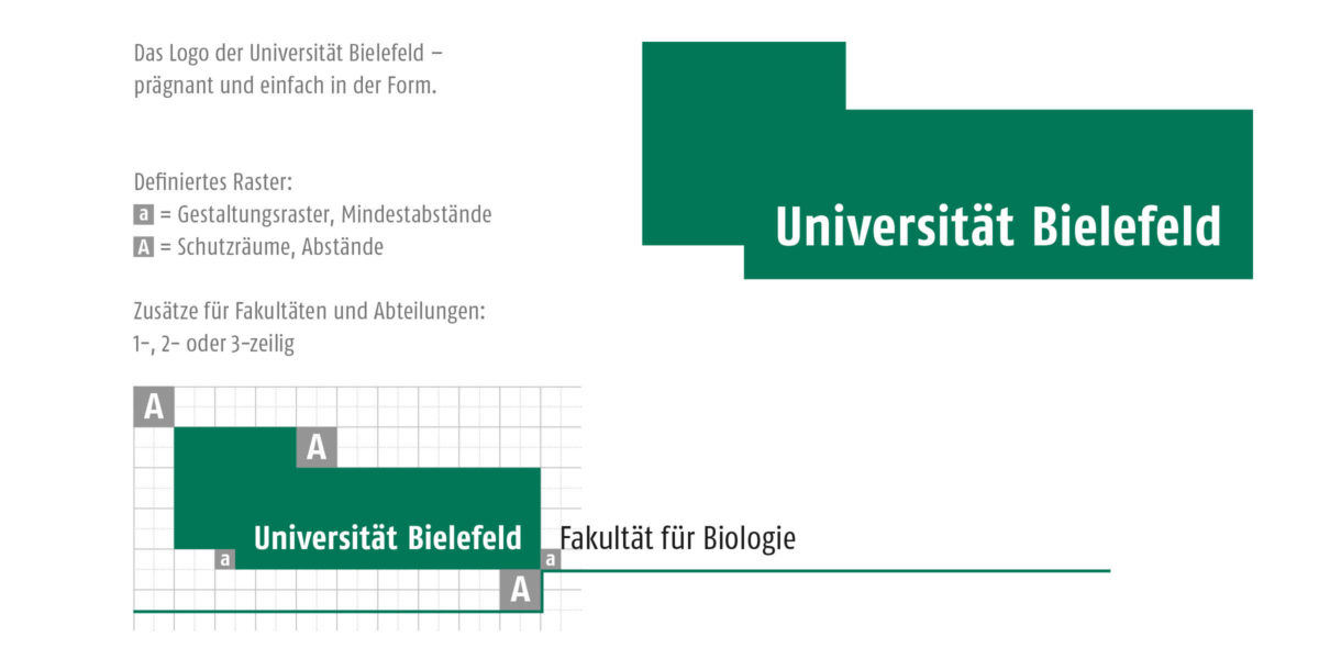 Universität Bielefeld Corporate Design Logo