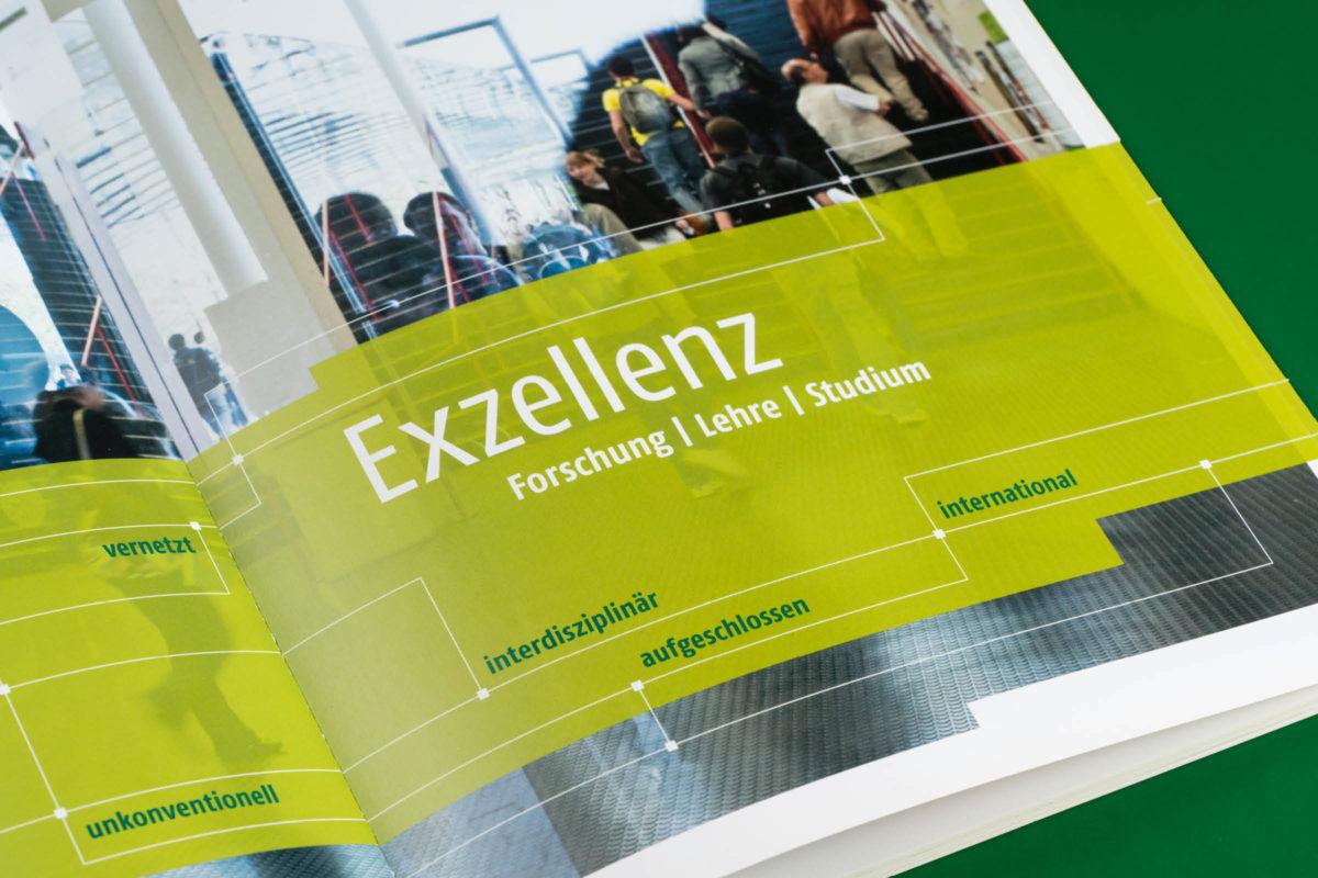 Universität Bielefeld Imagebroschüre Detail