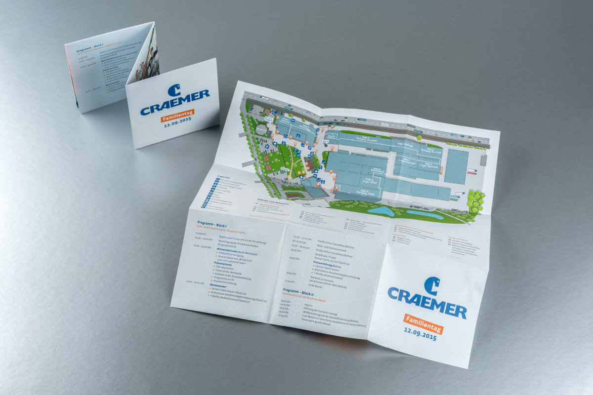Craemer Corporate Design Drucksachen