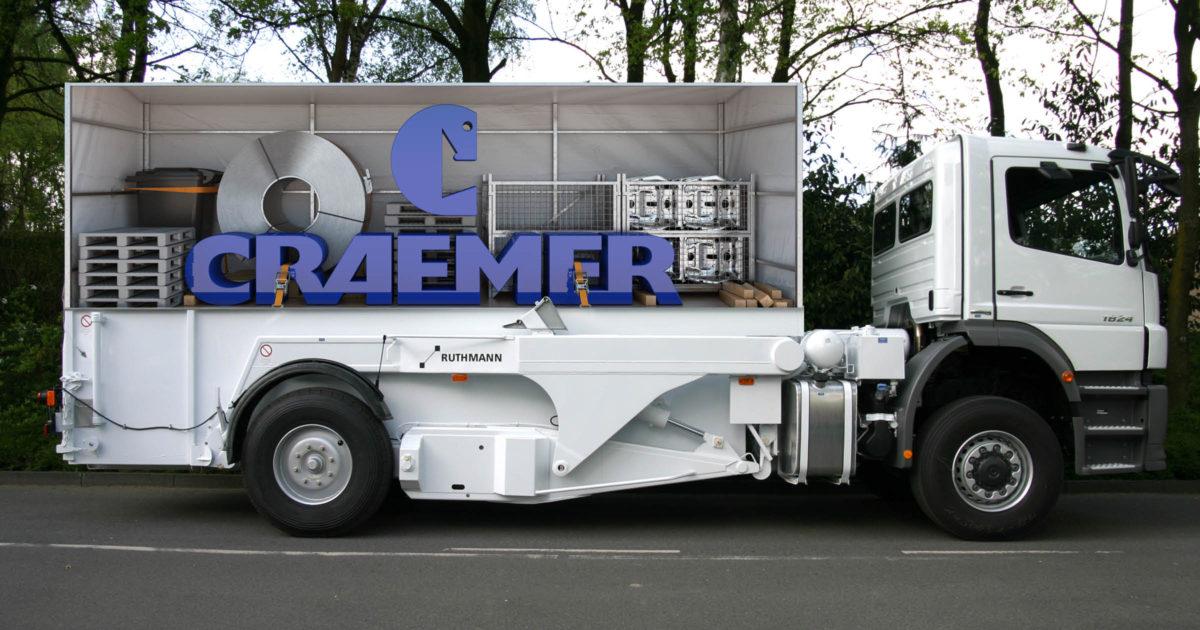 Craemer Corporate Design Lkw-Beschriftung