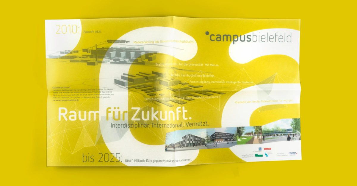 Campus Bielefeld Corporate Design Imagebroschüre