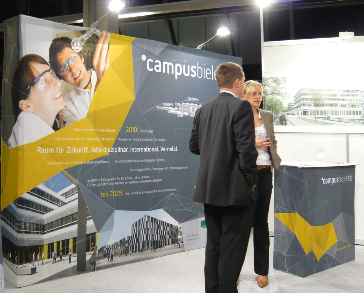 Campus Bielefeld Corporate Design Messe