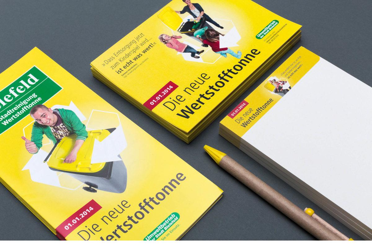 Werstofftonne Bielefeld: Drucksachen