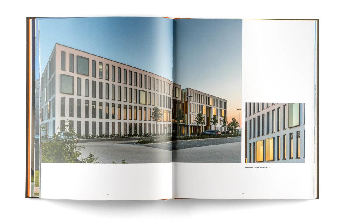 Buchgestaltung: Architektur mit System, Innengestaltung