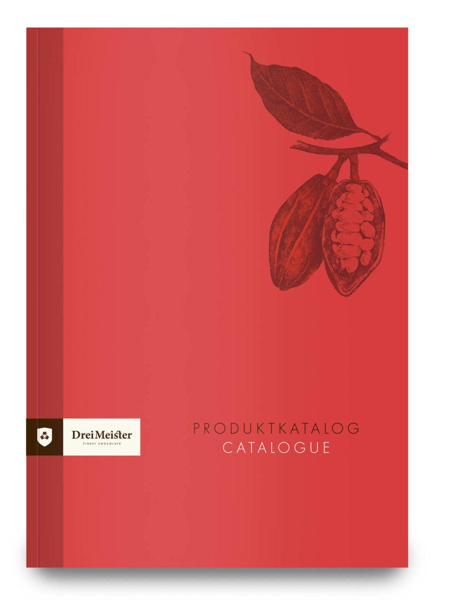 Drei Meister Schokolade Katalog
