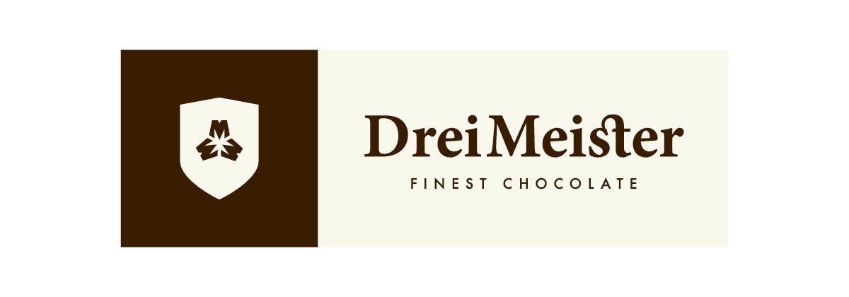 Drei Meister Schokolade Logo neu