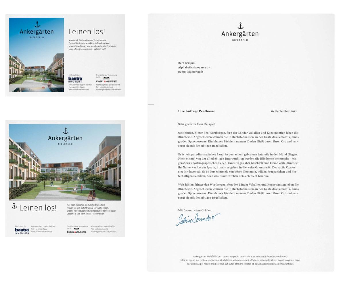 Ankergärten Bielefeld Corporate Design