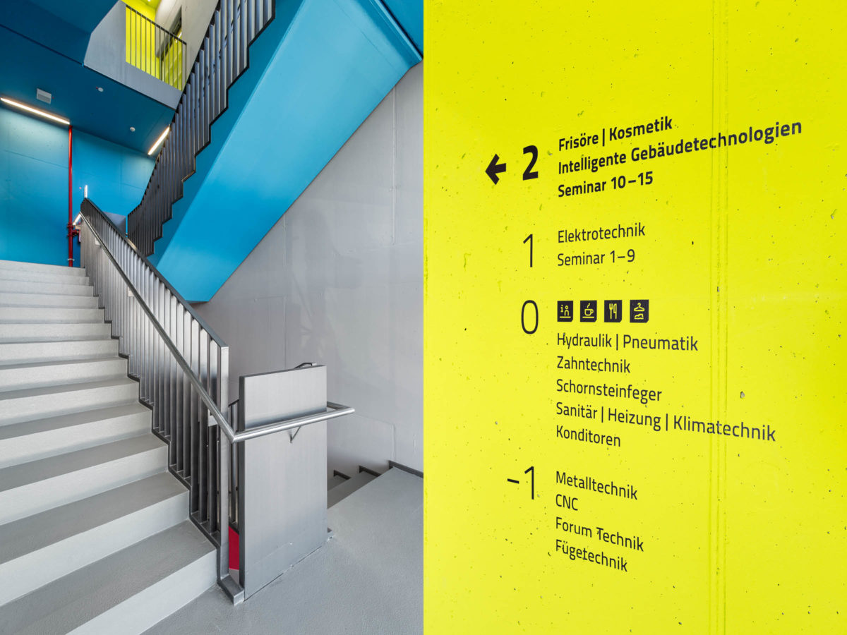 Handwerkskammer Ostwestfalen-Lippe zu Bielefeld: Leitsystem