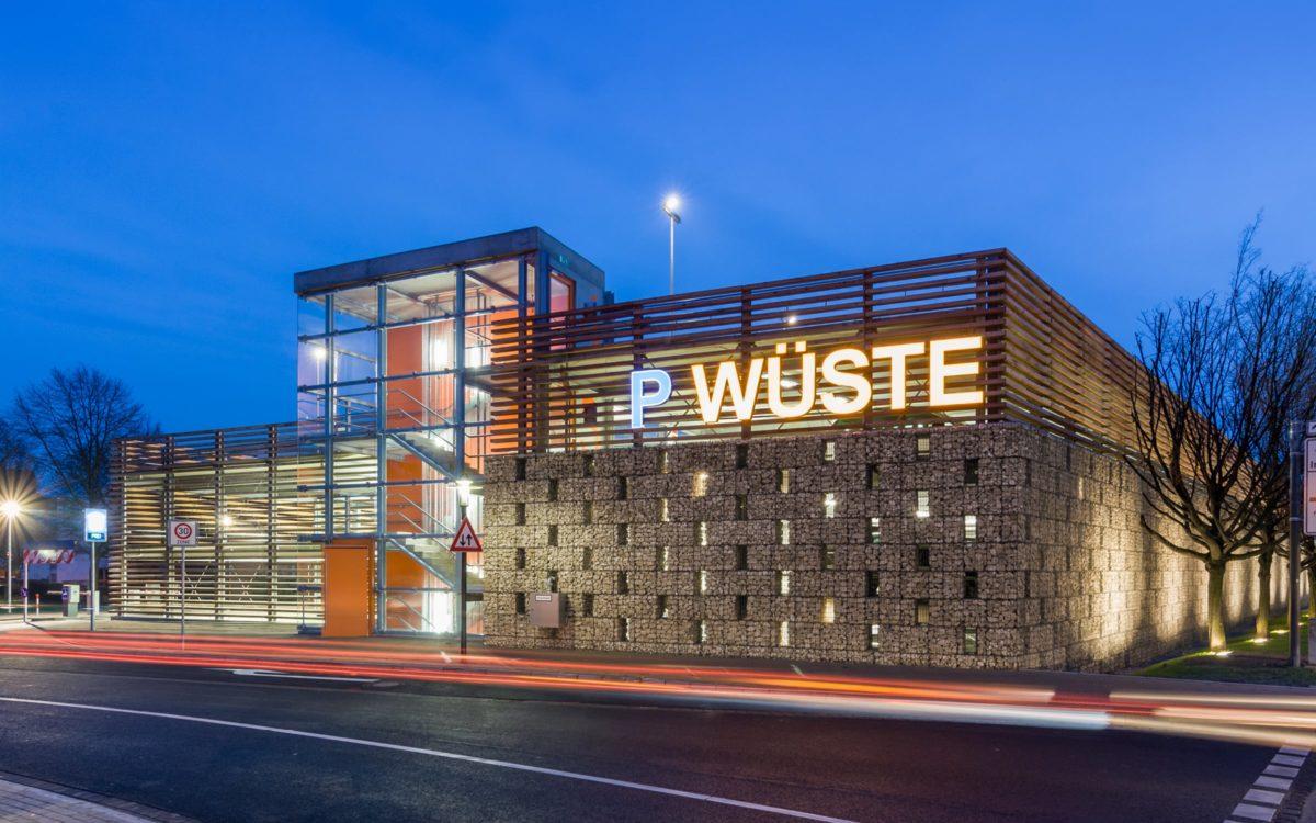 Foto Parkhaus Wüste Lemgo – bhp Architekten + Generalplaner GmbH