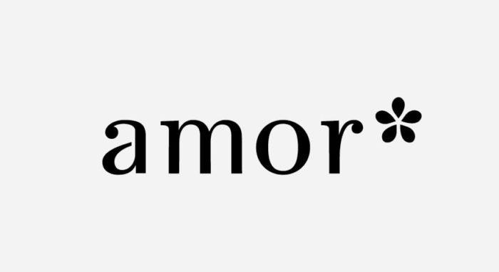 Amor Logo schwarz-weiß