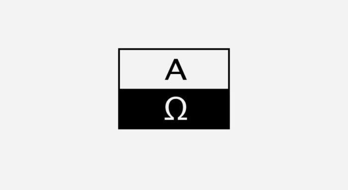 A.O. Schifffahrt Logo schwarz-weiß