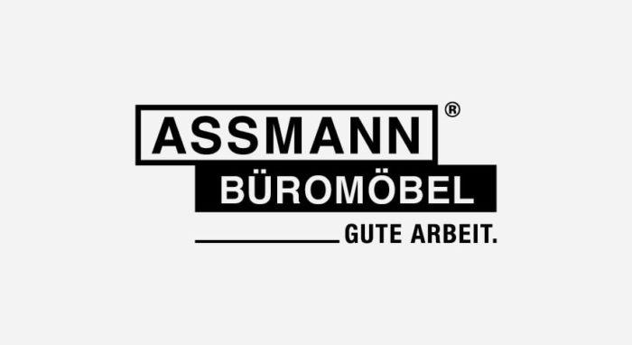 Assmann Büromöbel Logo schwarz-weiß