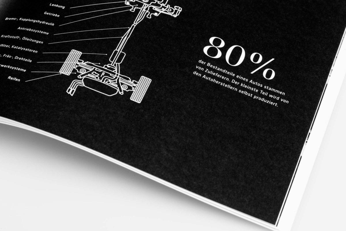 bau|zeit Magazin: Detail einer Infografik.