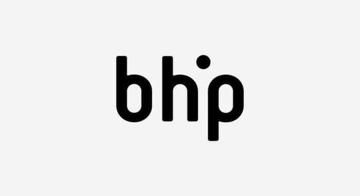 bhp Brüchner-Hüttemann Pasch Architekten Logo schwarz-weiß