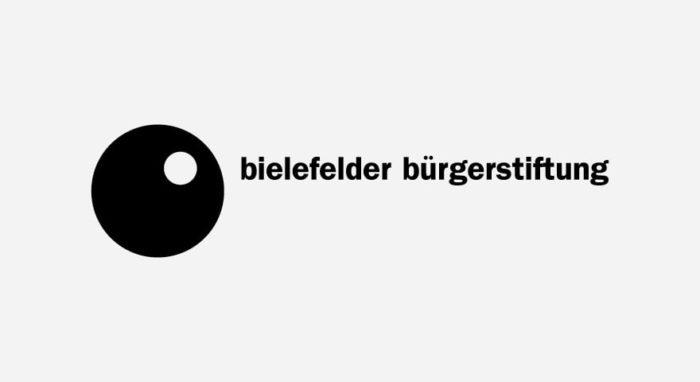 Bielefelder Bürgerstiftung Logo schwarz-weiß