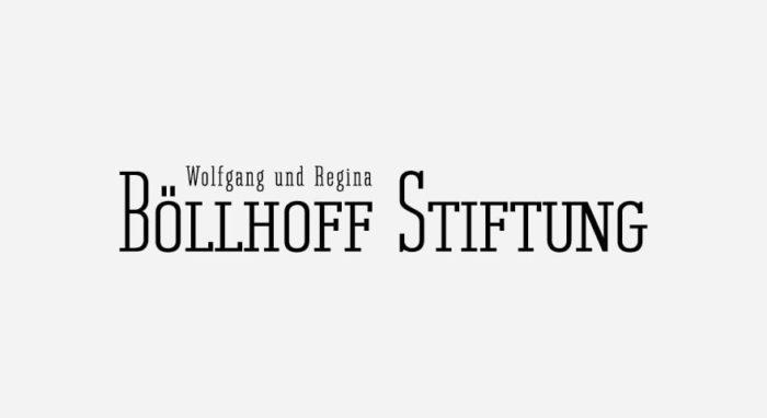Böllhoff Stiftung Logo schwarz-weiß