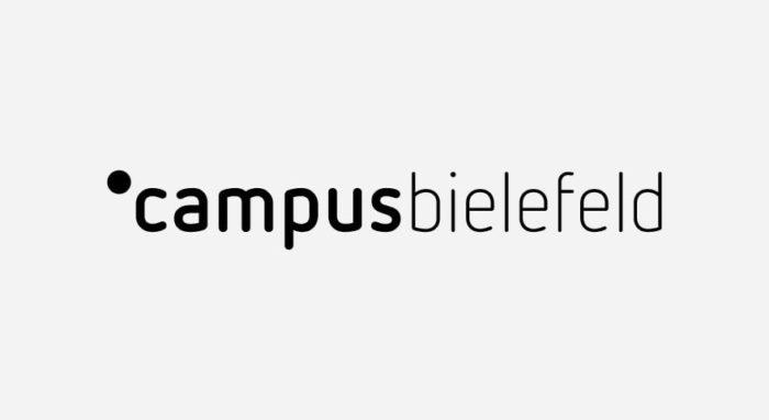 Campus Bielefeld Logo schwarz-weiß