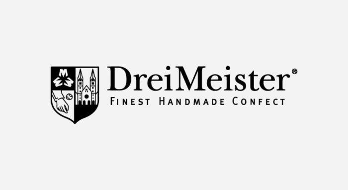 DreiMeister Logo schwarz-weiß