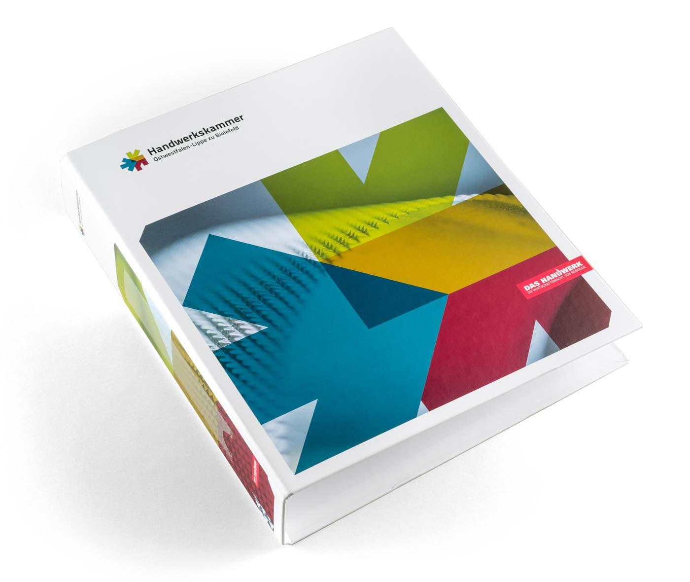 Corporate Design Handwerkskammer Ostwestfalen-Lippe zu Bielefeld