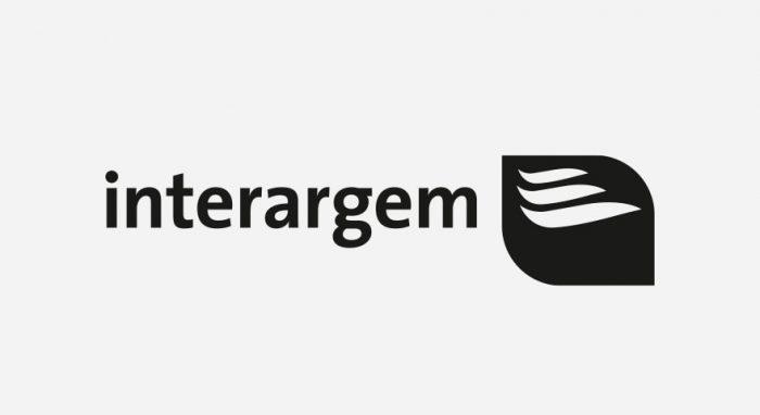 Interargem Logo schwarz-weiß