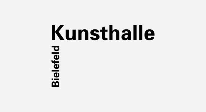 Kunsthalle Bielefeld Logo schwarz-weiß