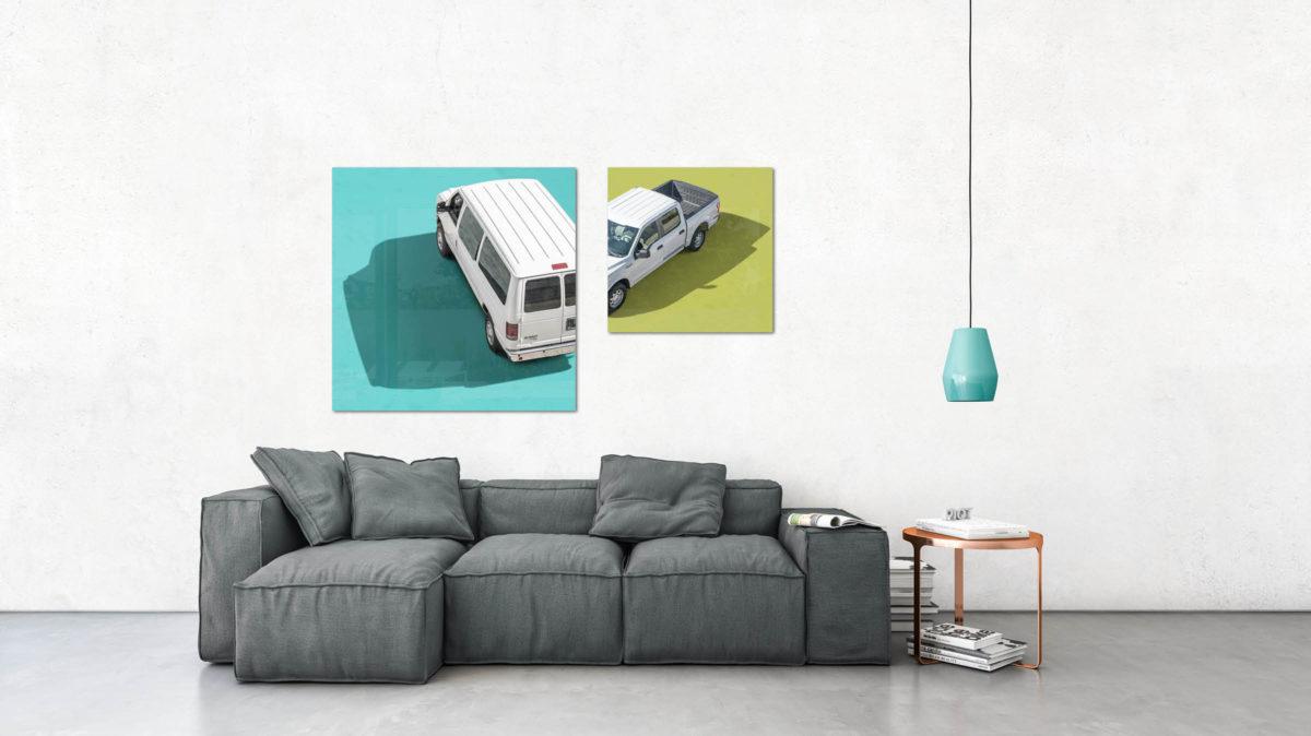 PIQT Webshop für Fotokunst 3D Interior