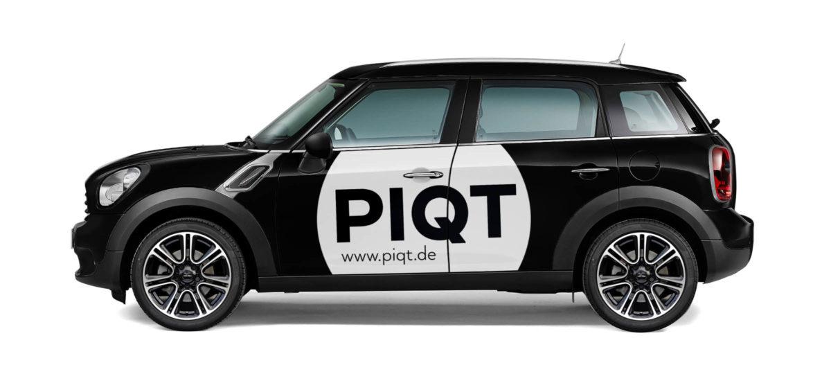PIQT Webshop für Fotokunst Autobeschriftung