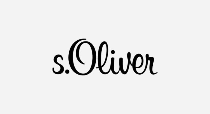 s.Oliver Logo schwarz-weiß