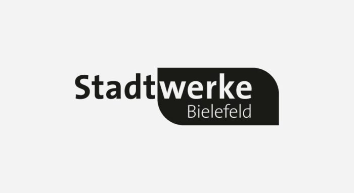 Stadtwerke Bielefeld Logo schwarz-weiß