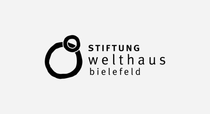 Stiftung Welthaus Bielefeld Logo schwarz-weiß