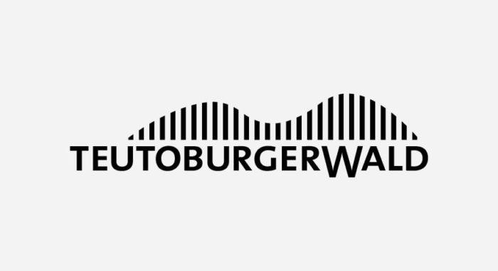 Teutoburger Wald Logo schwarz-weiß