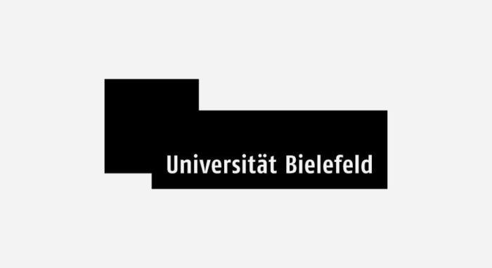 Universität Bielefeld Logo schwarz-weiß