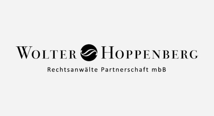 Wolter Hoppenberg Logo schwarz-weiß