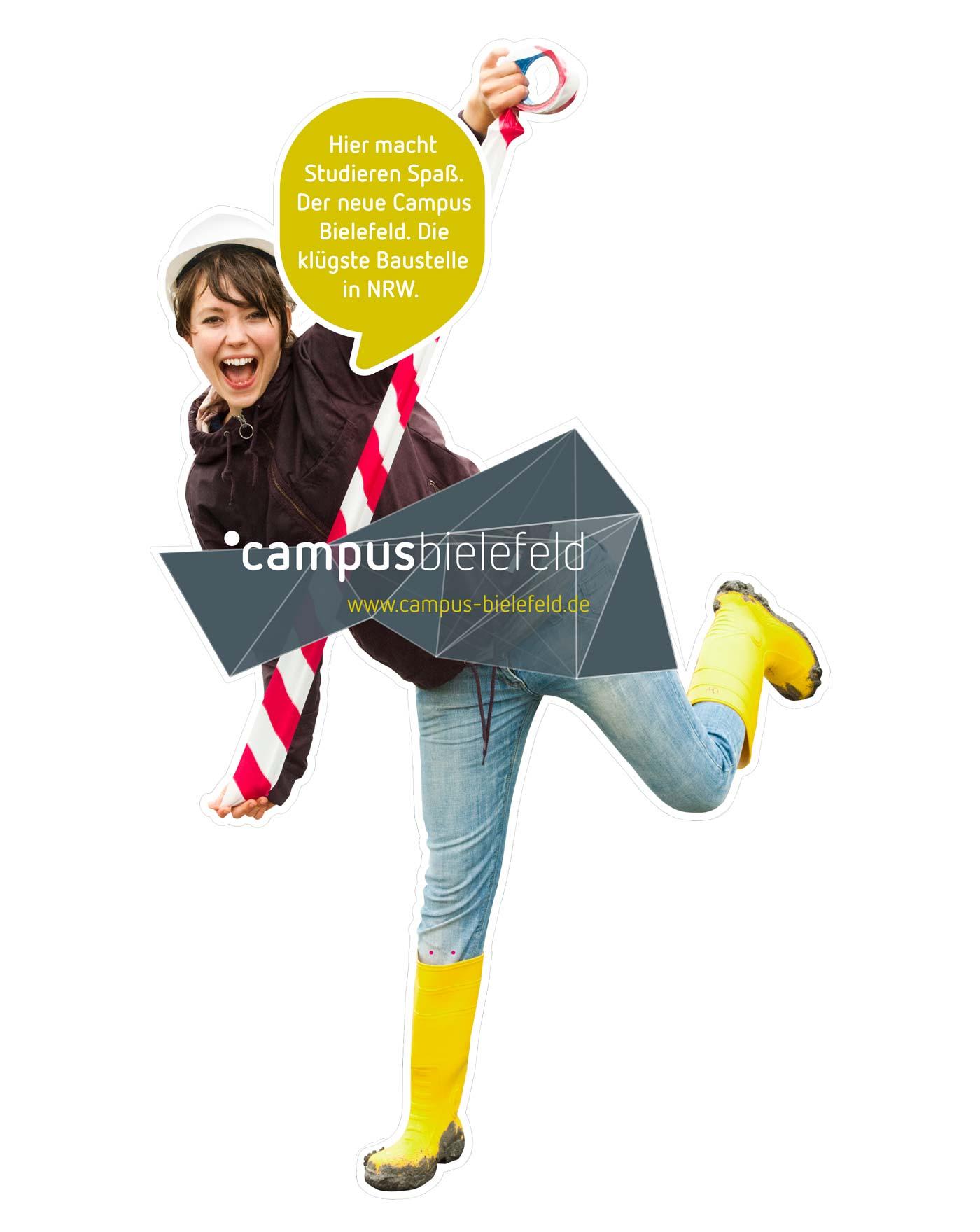 Campus Bielefeld Aufsteller