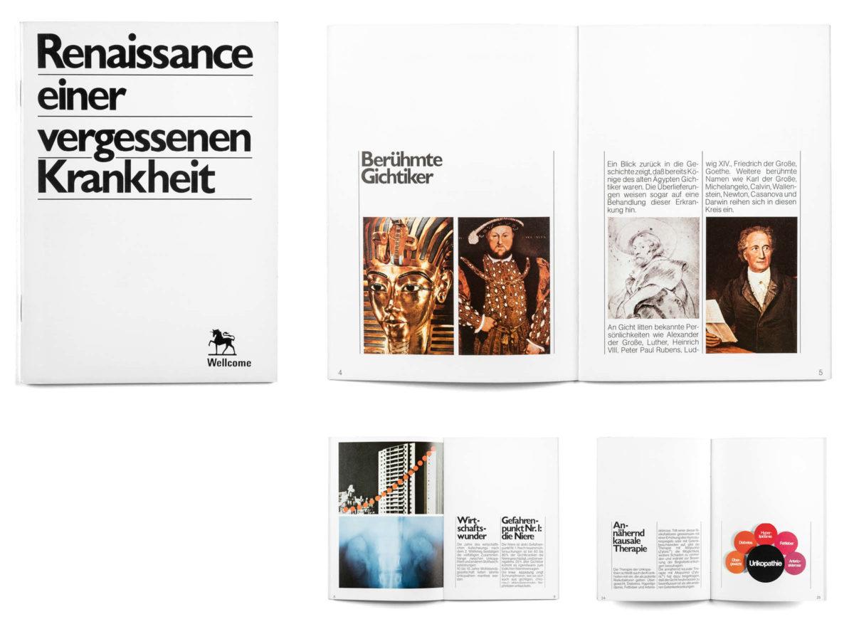 Renaissance einer vergessenen Krankheit, Editorial Design 1972