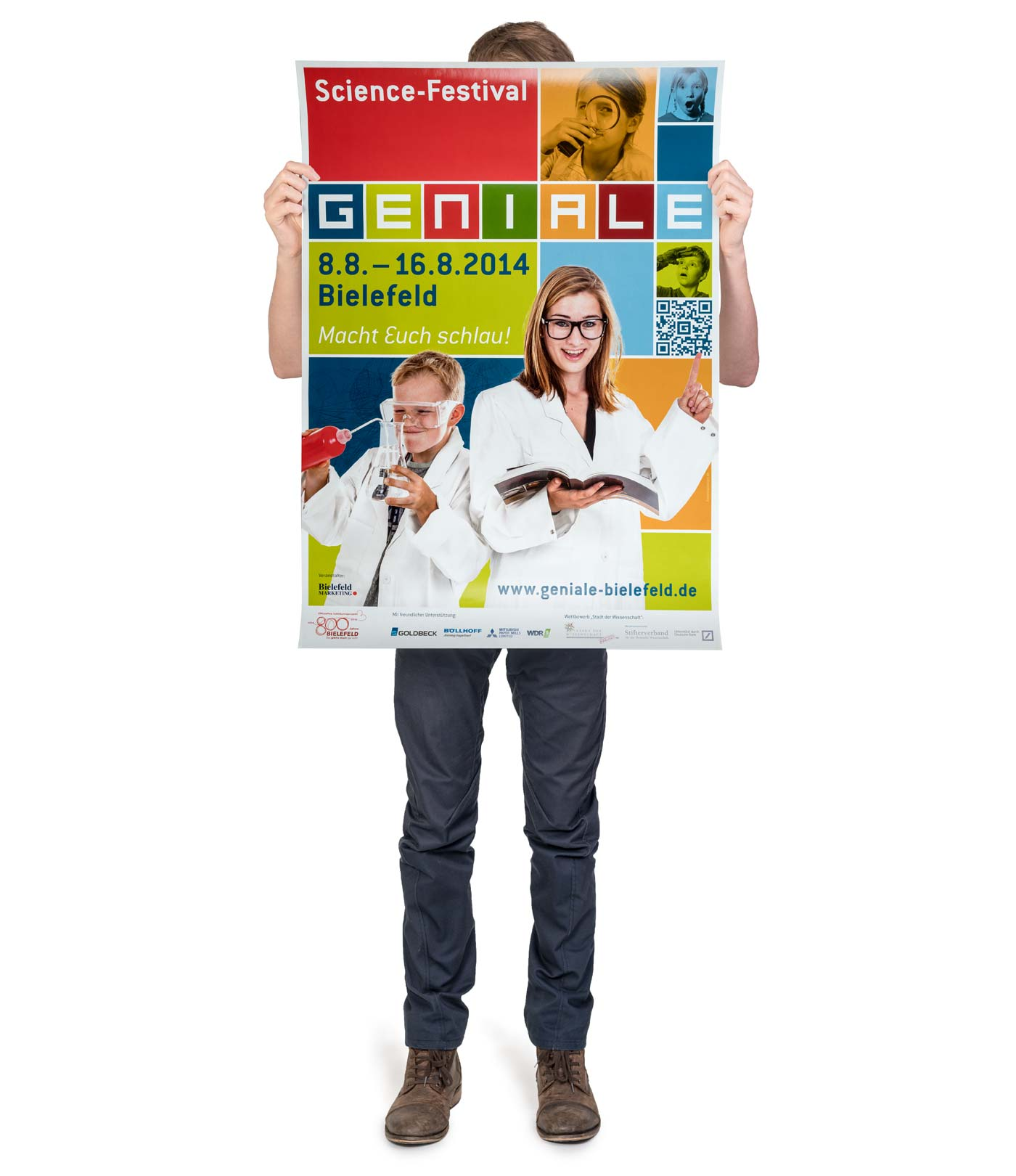 GENIALE Bielefeld Poster