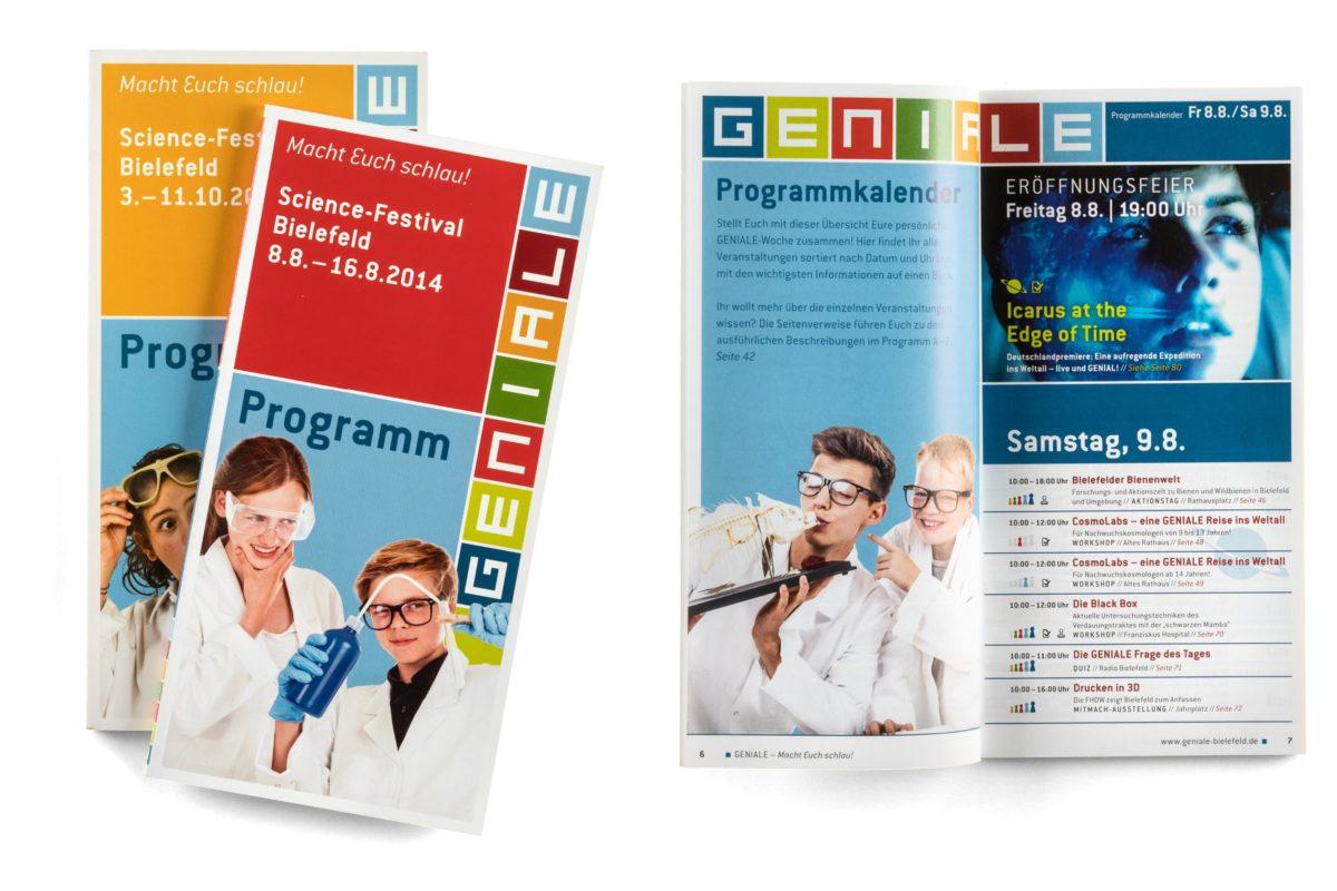 GENIALE Bielefeld Programmheft