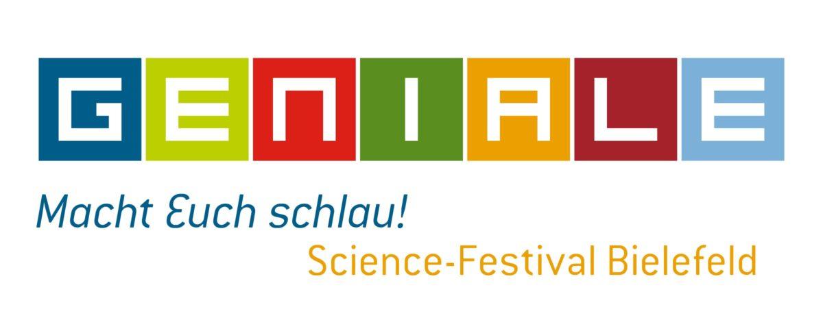 GENIALE Bielefeld Logo und Schriftzug