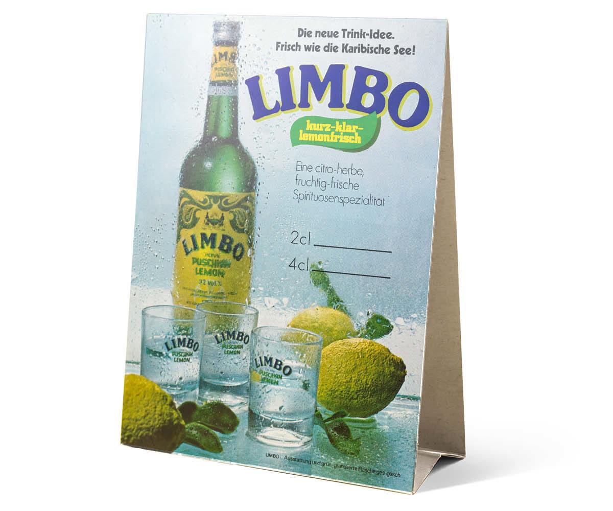 Limbo Puschkin Lemon Aufsteller Historisch