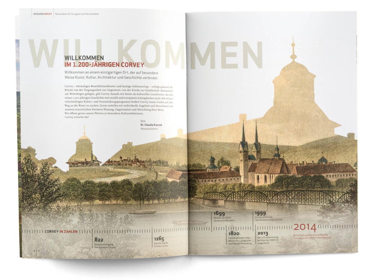 Schloss Corvey Broschüre