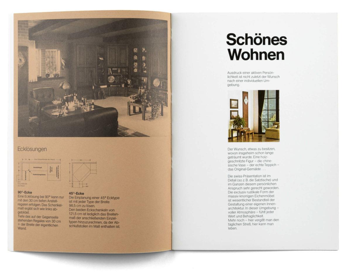 Schönes Wohnen, Editorial Design 1975