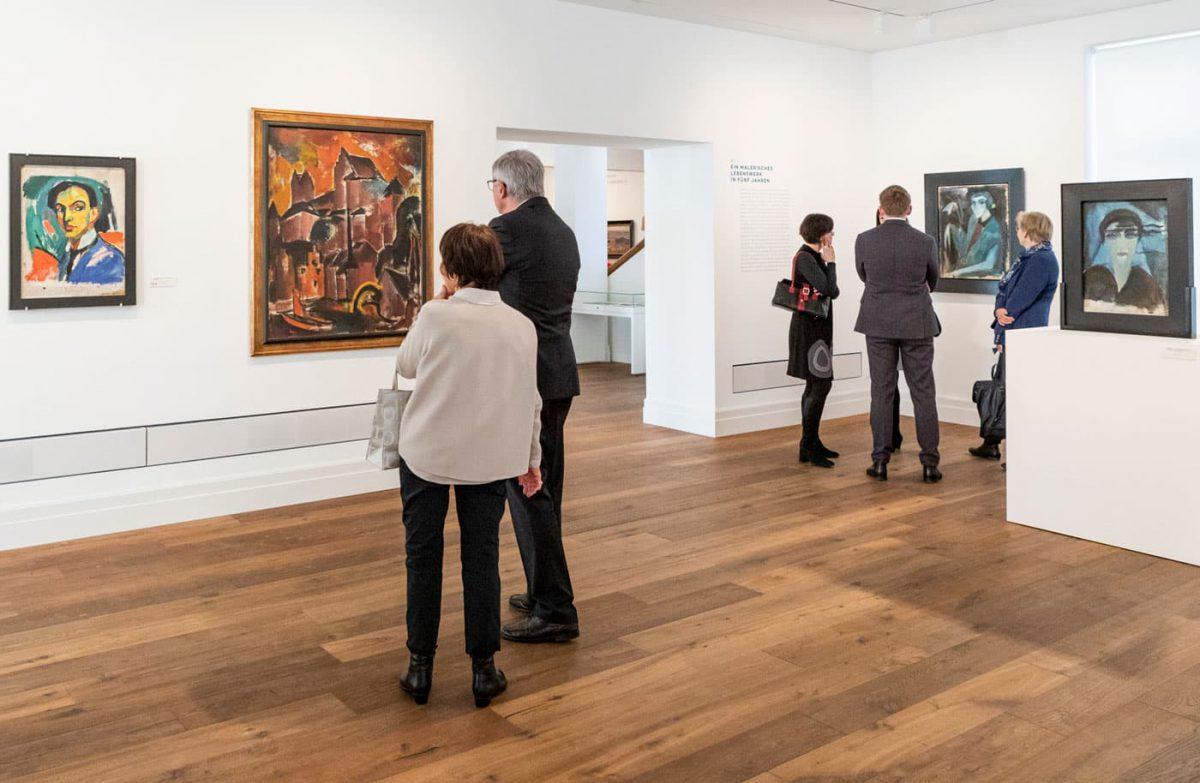Kunstforum Hermann Stenner Ausstellung