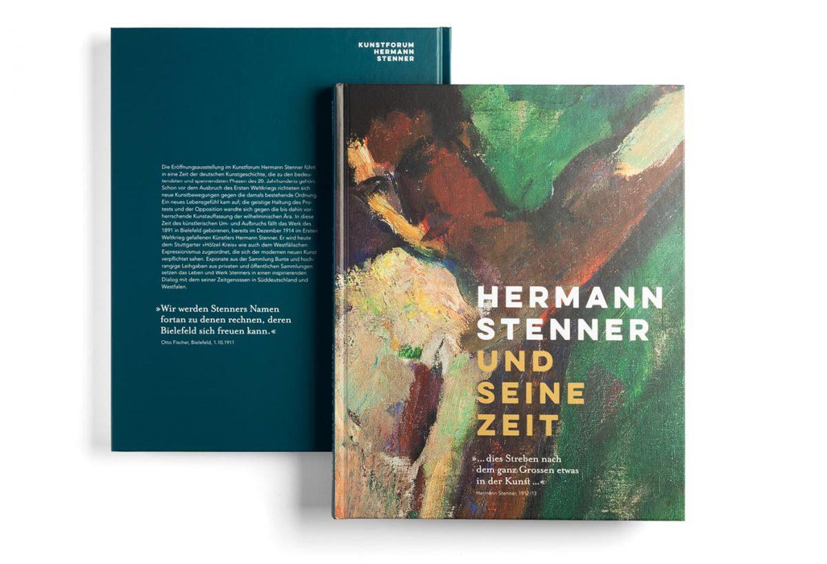 Kunstforum Hermann Stenner Ausstellungskatalog Titel